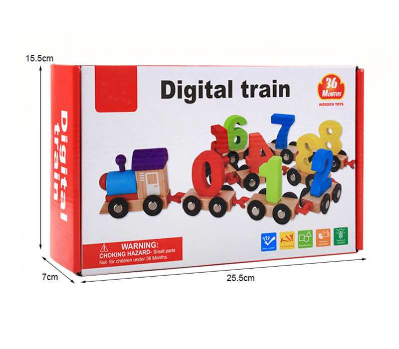 Digital Wooden Train
