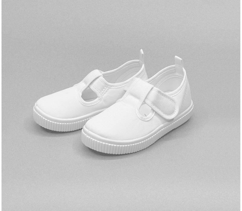 Canvas White Shoe (Girl)