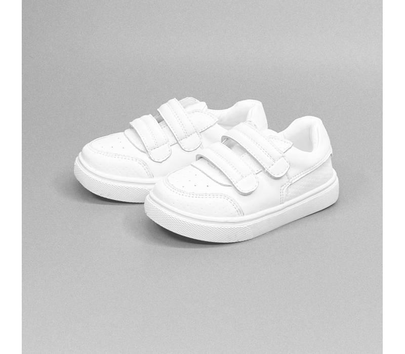 Leather White Shoe (Unisex)