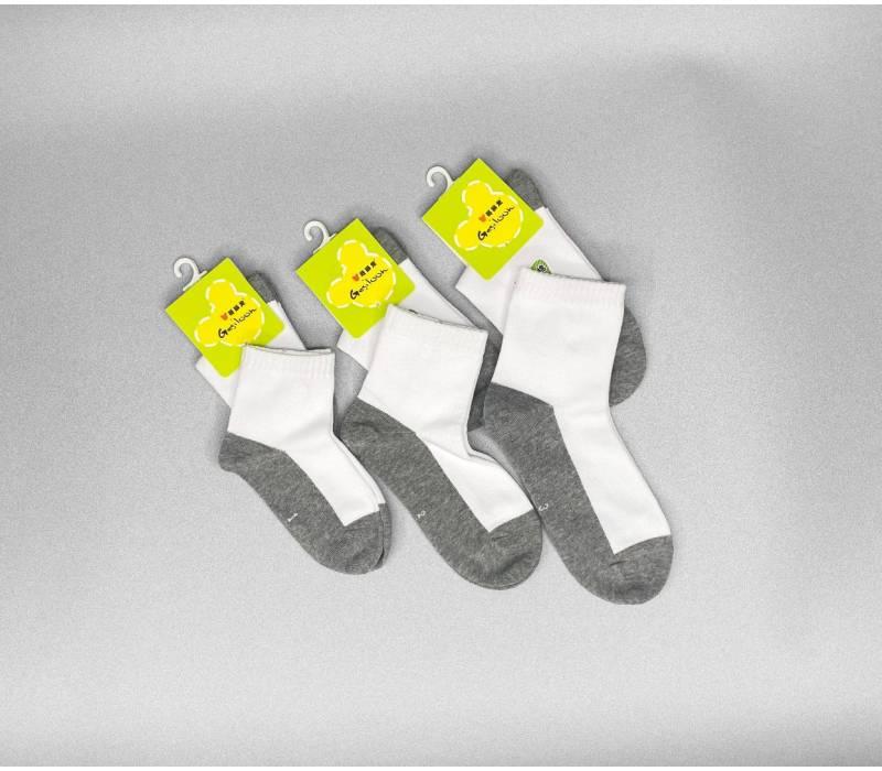 School White Socks (Unisex)
